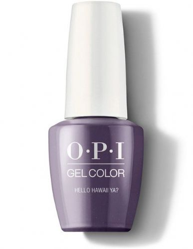 OPI Gelcolor Hello Hawaii Ya!